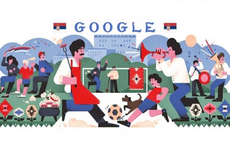 Google se suma a la fiebre mundialista con doodle de Brasil y Costa Rica