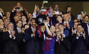Barcelona se corona tetracampeón de la Copa del Rey goleando a Sevilla