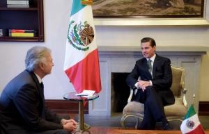 Empresa francesa anuncia a Peña Nieto inversión de entre 25 y 30 mdd