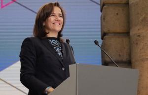 Zavala comienza planteamientos sobre relaciones exteriores y con EUA