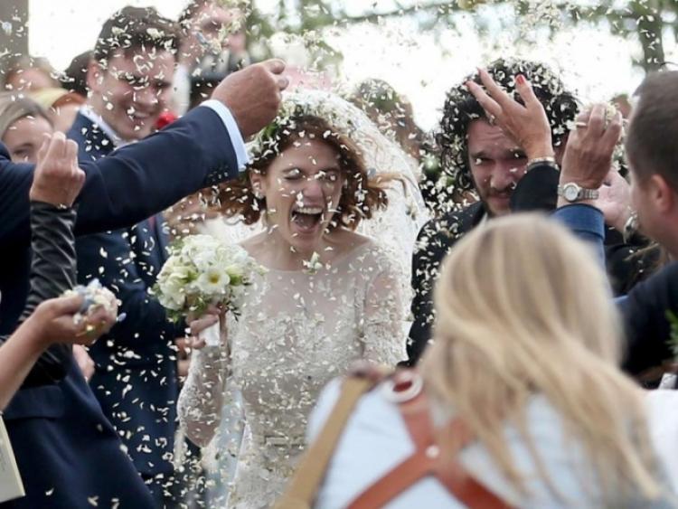 Rose Leslie y Kit Harington de 'Game of Thrones' se casan