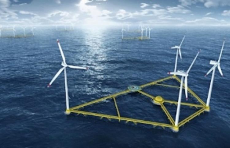 China avanza al desarrollo verde con proyecto de energía eólica marina