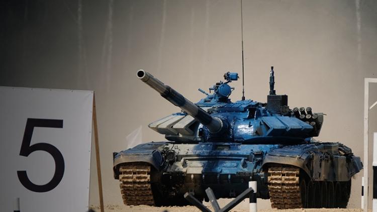 Impresionante 'batalla' de tanques en el biatlón de los Juegos Militares Internacionales