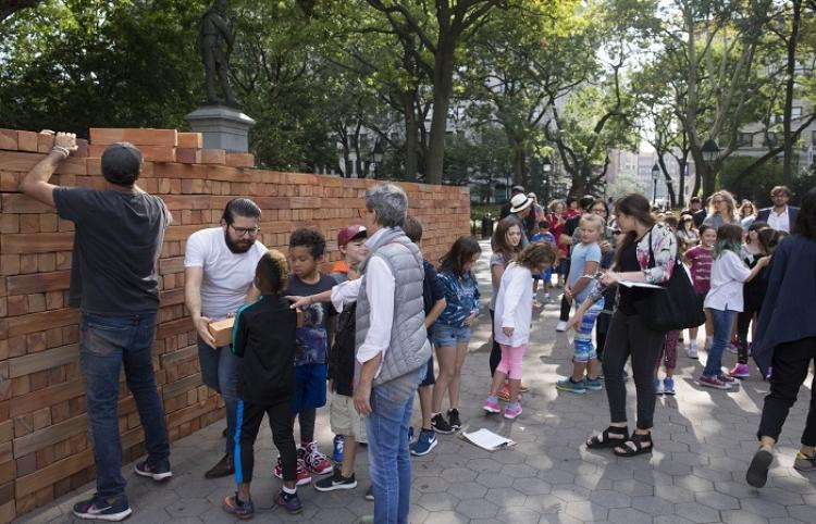 """Mexicano Bosco Sodi trae su """"Muro"""" a festival de arte londinense"""