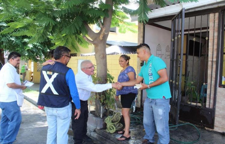 Camilo Ramírez con el compromiso de ofrecer apoyo en útiles escolares