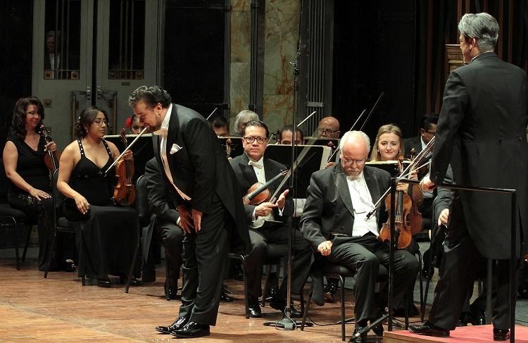 Celebró Ramón Vargas 35 años de carrera en el Palacio de Bellas Artes