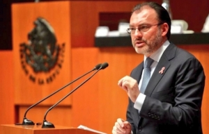 México aplicará la ley con respeto a derechos humanos de migrantes: Videgaray