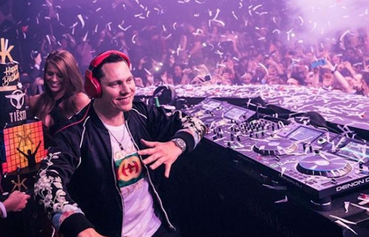 DJ Tiësto comparte playlist en Spotify, previo a su show en festival EDC