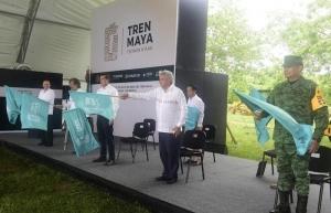 Banderazo a obras de Tren Maya viola la ley, aseguran ambientalistas