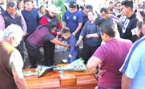 Con llanto, procesiones y música despiden a fallecidos en Tlahuelilpan