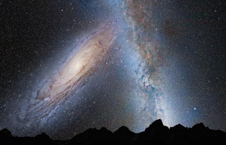 Espectacular 'timelapse' de la Vía Láctea 'viajando' sobre un árbol en la sabana africana