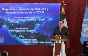 Plan para México y Centroamérica busca generar desarrollo social: Ebrard
