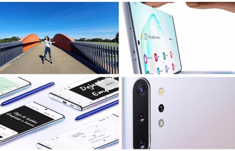 Los nuevos Samsung Galaxy Note 10 y Note10+ llegan a México y no podían ser mejor