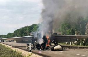 Ejército intercepta a jet clandestino en Q. Roo y se desata balacera