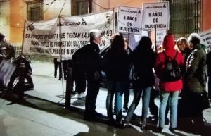 Extrabajadores de Mexicana bloquean accesos a Palacio Nacional