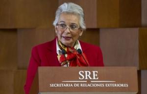 Plan de Desarrollo no se apega a intereses de otros países: Olga Sánchez