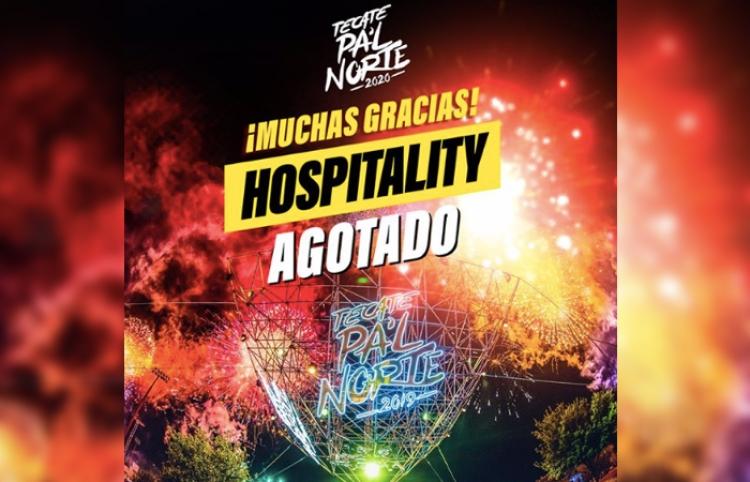 Tecate Pa'l Norte 2020 agota boletos de 'Hospitality'