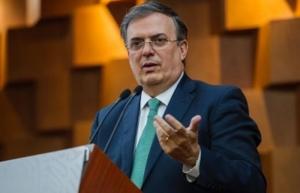 Canciller Ebrard se solidariza con pueblo de Colombia tras atentado