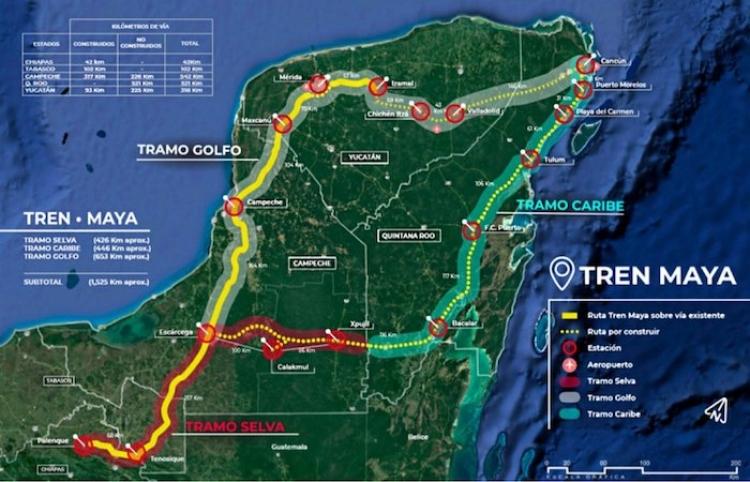Tren Maya podría ser el primer tren inteligente de América Latina