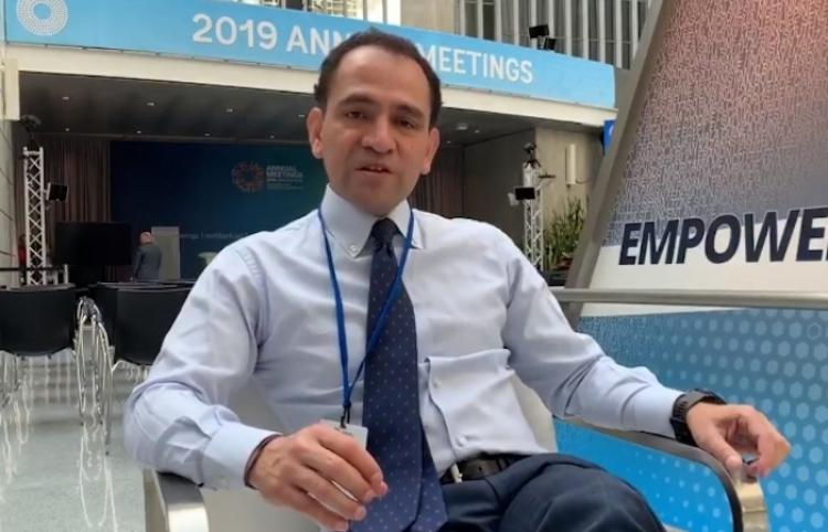México participa en evento más relevante de finanzas globales: Herrera