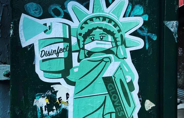 Los neoyorquinos llevarán mascarillas hasta junio como mínimo