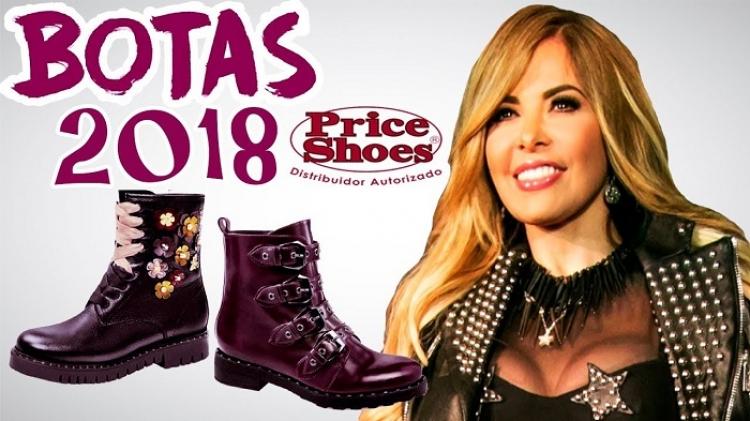 Gloria Trevi presenta en Tijuana su colección de ropa y zapato