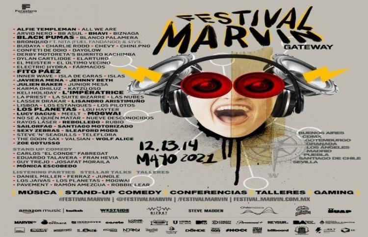 Festival Marvin Gateway realizará una transmisión simultánea en varios países los días 12, 13 y 14 de mayo