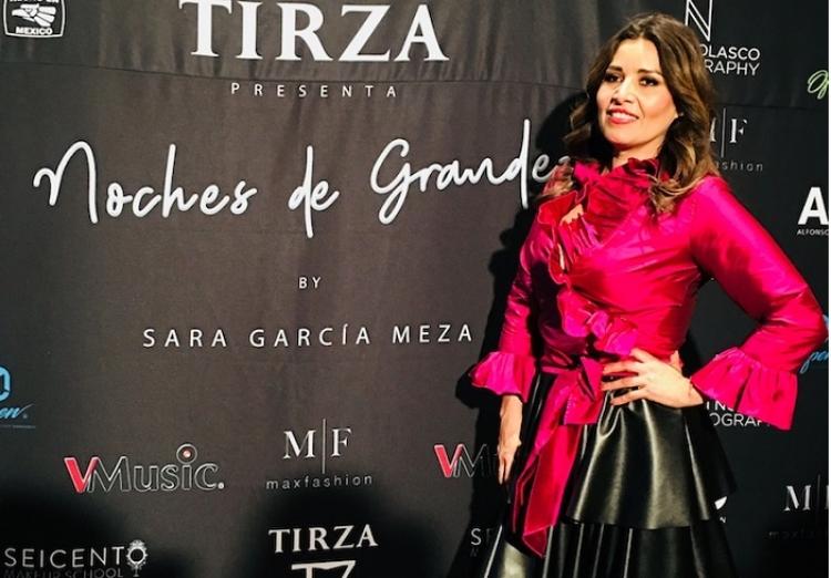 """Sara García muestra su """"Metamorfosis"""" en su nueva colección"""