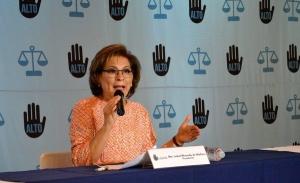 Pide Isabel Miranda anteponer derechos de víctimas sobre delincuentes