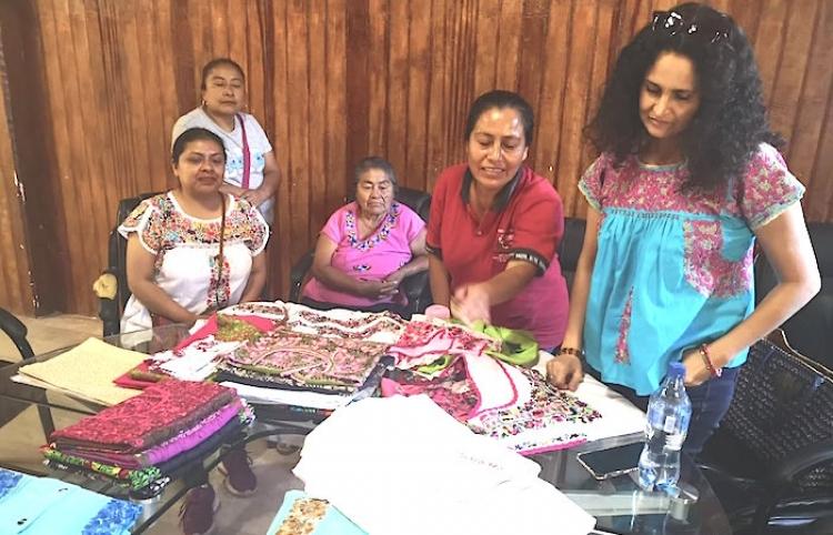 Marcas, dispuestas a respetar autoría de diseños mexicanos: Susana Harp