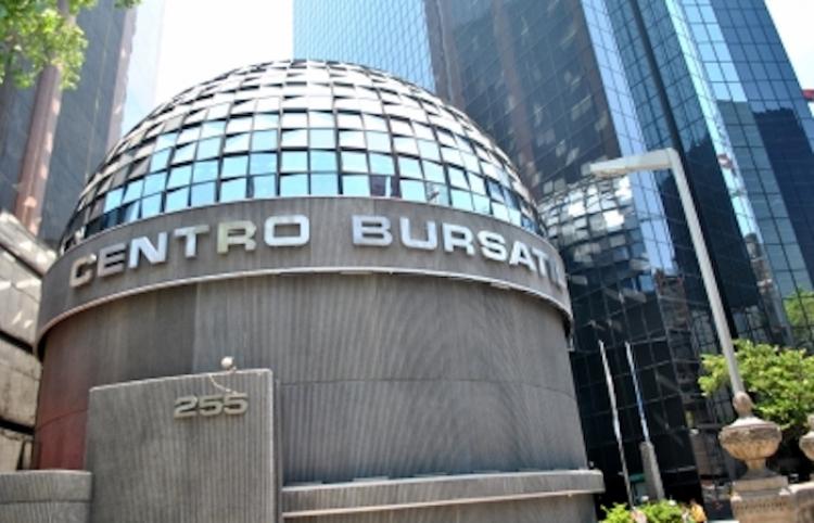 Bolsa Mexicana registra avance de 2.10 por ciento
