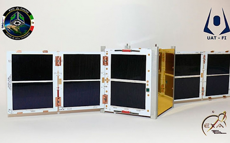 Otra vez tecnología de la UNAM al espacio ahora con nanosatélite K´OTO