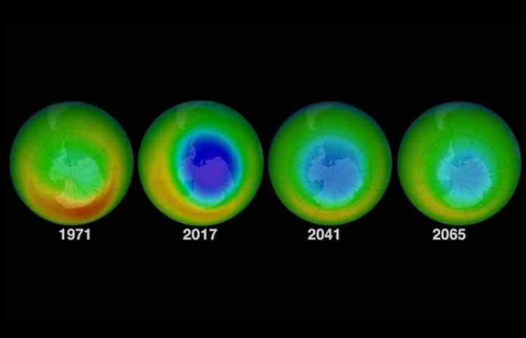 Observan expertos recuperación de la capa de ozono