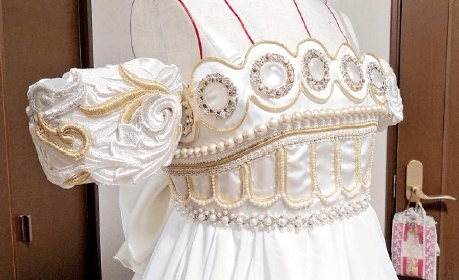 diseña su vestido de novia igual al de sailor moon