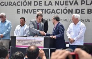 Con inversión de 35 mdp, inauguran planta de bioinsumos en Morelos