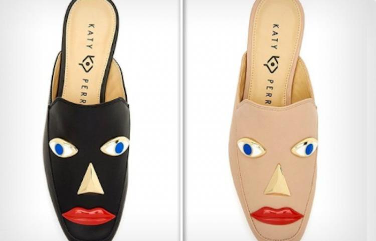 Katy Perry en la mira por calzado racista de su marca