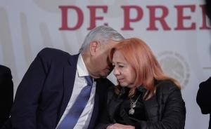 Reitera AMLO apoyo a Rosario Piedra en CNDH