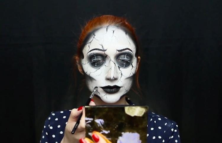 Esta chica hace magia al pintarse de la Otra Madre de Coraline