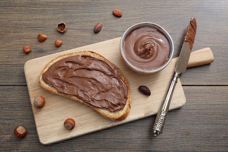 Los nuevos objetivos italianos de chocolate Goliat Nutella CÉLINE CORNU