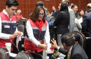 Llaman a diputados locales a donar de manera voluntaria a la Cruz Roja