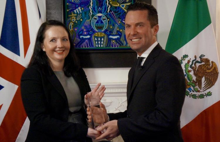 Recibe CEO de Xcaret premio por responsabilidad ecológica y social