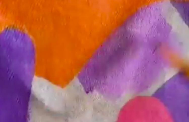 ¡Idea para pintar una chamarra de mezclilla!