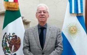 Embajador en Argentina vuela a México en mismo avión que Sánchez Cordero