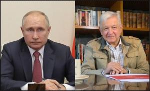 López Obrador examinará con Putin suministro de vacunas rusas contra covid-19 a México