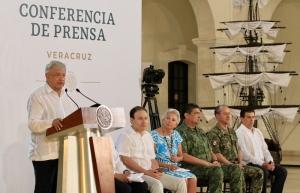 En seis meses, resultados en seguridad, ofrece el presidente López Obrador