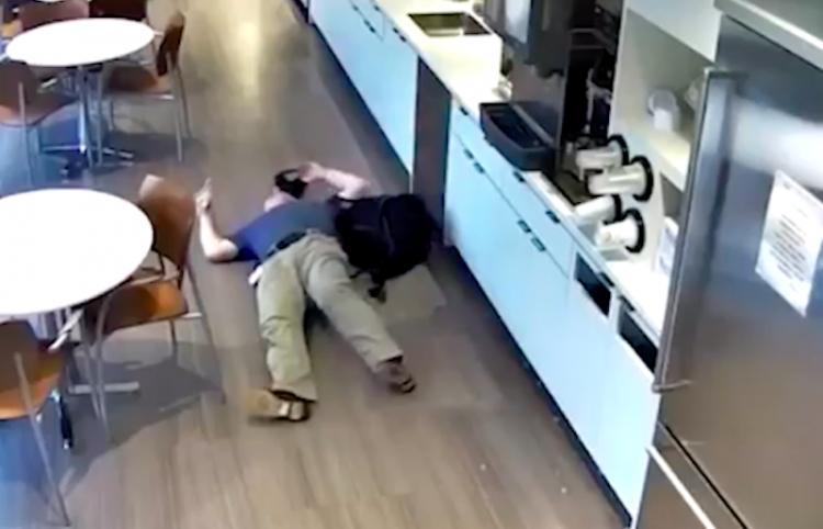 Hombre se cae a propósito por querer cobrar seguro