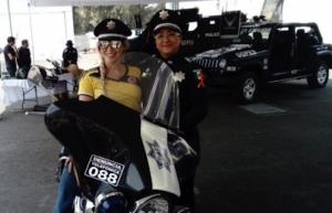 """Policía femenil se acerca a ciudadanía en el """"Fórmula M 2019"""""""