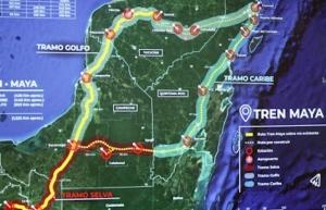 Gobierno entrante presentará video promocional de Tren Maya