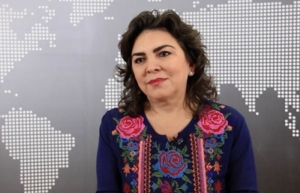 Confía Ivonne Ortega en poder de la militancia para dirigir al PRI