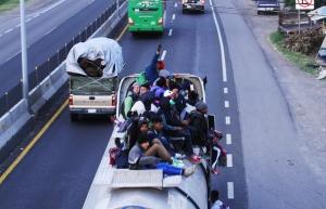 Poco a poco, migrantes centroamericanos llegan a Zapopan